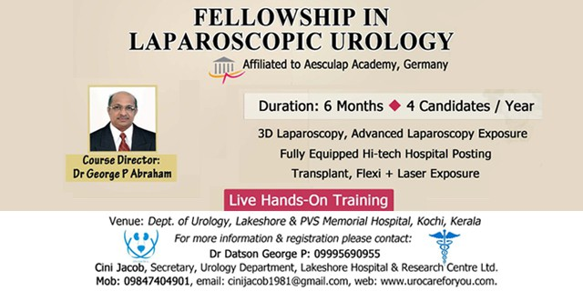 Fellowship Programme in Laparoscopic Urology